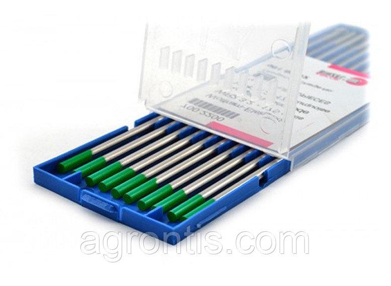 Вольфрамовый электрод WP 3.2х175 зелёный (ABICOR BINZEL®)