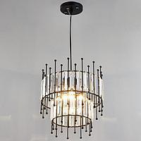 Светильник 59802/1 E27 40Вт черный 30х30х32-132 см