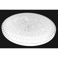 Люстра с ПДУ CL-311/35 72Вт LED 2700-6500К белый 40х8 см