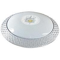 Люстра с ПДУ CL-159/35 72Вт LED 2700-6500К диммир., с ночником, белый 39х8 см