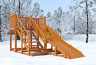 Зимняя горка IgraGrad Snow Fox, скат 4 м, фото 1