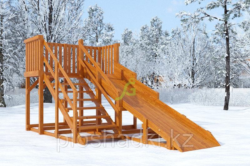 Зимняя горка IgraGrad Snow Fox, скат 4 м