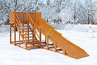 Зимняя горка IgraGrad Snow Fox, скат 5,9 м, фото 1