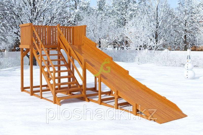 Зимняя горка IgraGrad Snow Fox, скат 5,9 м