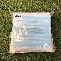 Маски одноразовые, в упаковке 100 шт