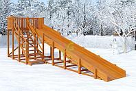 Зимняя горка IgraGrad Snow Fox, скат 8 м, фото 1