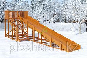Зимняя горка IgraGrad Snow Fox, скат 8 м