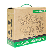 Модульные коврики ОРТОДОН, набор «ЭКО» (6 пазлов)