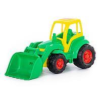 Трактор с ковшом «Чемпион» (в сеточке)