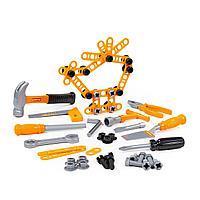 Детский набор инструментов №4 (72 элемента) (в пакете)