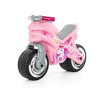 Каталка-мотоцикл МХ (розовая)