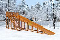 Зимняя горка IgraGrad Snow Fox, скат 10 м, фото 1