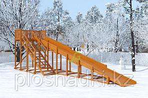 Зимняя горка IgraGrad Snow Fox, скат 10 м