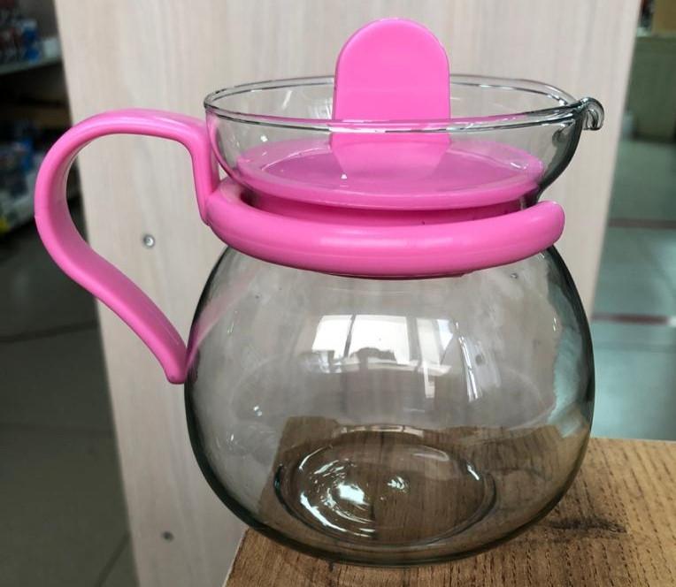 Заварочный чайник Glass tea pot 0.45 л стеклянный