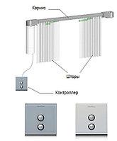 Электрокарнизы для штор 1 м