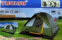 Палатка четырехместная Tuohai ct-3301