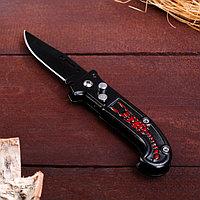 """Нож перочинный складной """"Красный скорпион"""", лезвие 6,5 см"""