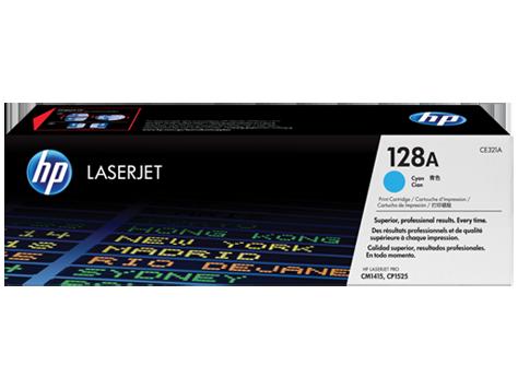HP CE321A Картридж лазерный HP 128A голубой, ресурс 1300 стр