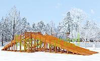 Зимняя горка IgraGrad Snow Fox, 4 горки, фото 1