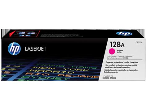 HP CE323A Картридж лазерный HP 128A пурпурный, ресурс 1300 стр
