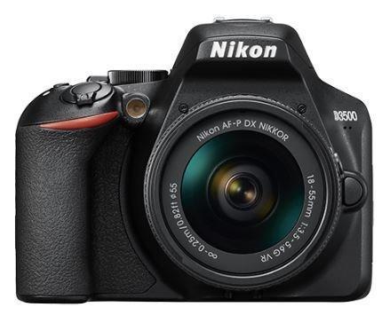 Фотоаппарат зеркальный Nikon D3500 Kit 18-55VR AF-P