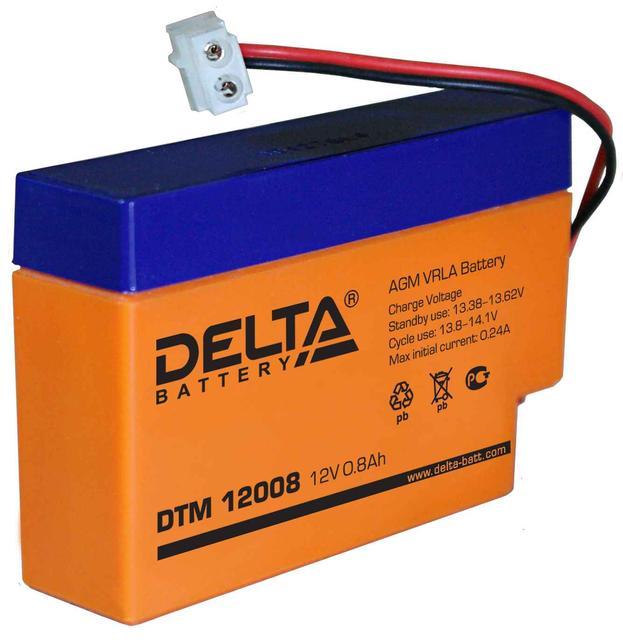 Промышленные аккумуляторные батареи Delta