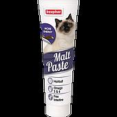 Мальт-паста Malt Paste для выведения проглоченной шерсти у кошек, Beaphar - 100 г