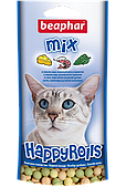 Лакомство Happy Rolls Mix с креветками, сыром и кошачьей мятой для кошек, Beaphar - 80 табл.