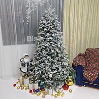 """Искусственная новогодняя ель с 3D снегом """"Siberia Platinum"""" - 210 см"""