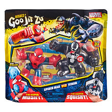 Гуджитсу Игровой набор тянущихся фигурок Человек-Паук и Веном