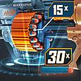 Hasbro Nerf N-Strike Elite 2,0 Пистолет Бластер Нёрф Коммандер РД-6 (Commander RD-6), фото 3