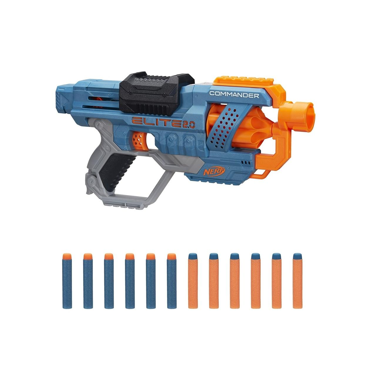 Hasbro Nerf N-Strike Elite 2,0 Пистолет Бластер Нёрф Коммандер РД-6 (Commander RD-6)
