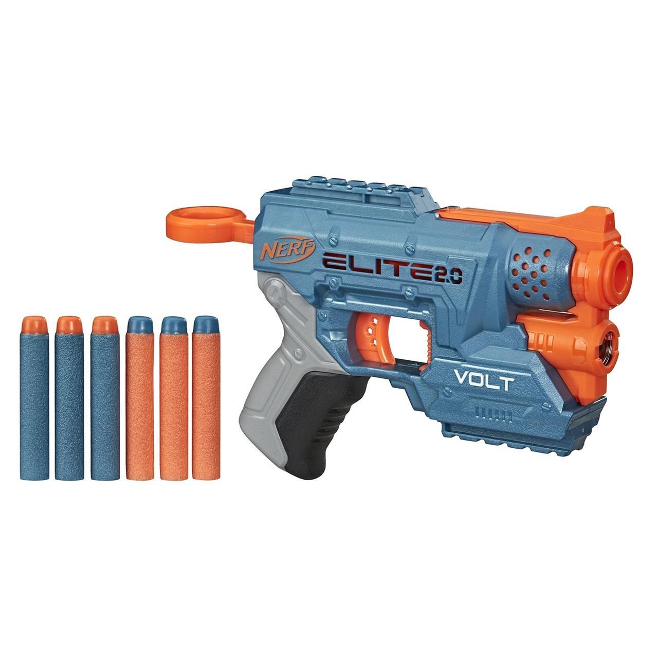 Hasbro Nerf N-Strike Elite 2,0 Пистолет Бластер Нёрф Вольт СД-1 с лазерным прицелом (Volt SD-1)