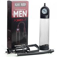Вакуумная помпа с манометром penis Pump