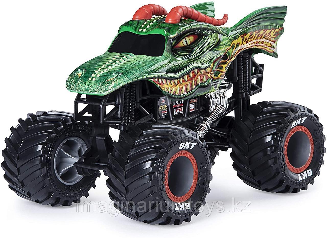 Машинка Джип Монстр Трак Monster Jam Дракон, масштаб 1:24