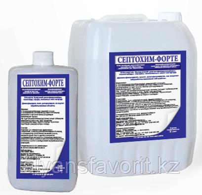 Септохим -Форте - дезинфицирующее средство. 5 литров. РК, фото 2