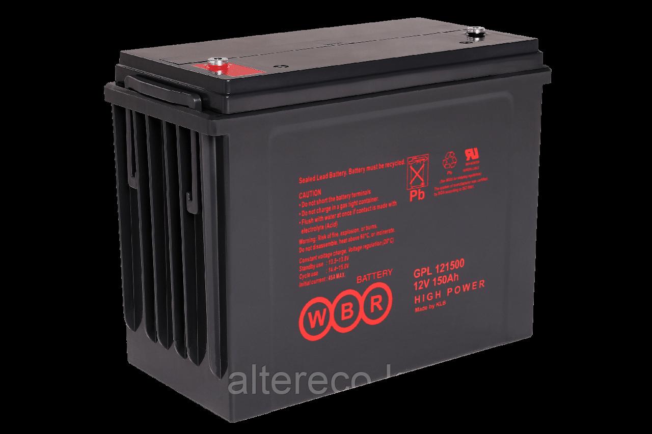 Аккумулятор WBR GPL121500 (12В, 150Ач)
