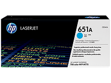 HP CE341A Картридж лазерный HP 651A голубой, ресурс 16000 стр