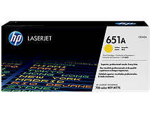 HP CE342A Картридж HP 651A желтый, ресурс 16000 стр