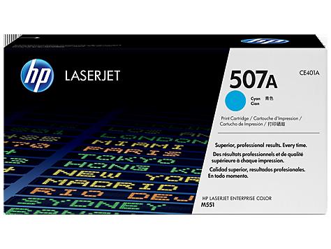 HP CE401A Картридж лазерный HP 507A голубой, ресурс 6000 стр.