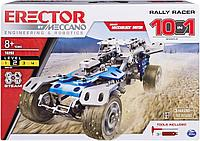Конструктор Meccano машина Rally для взрослых детей 10 в 1, фото 1