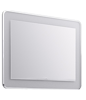 Aqwella Malaga 90 см, цвет белый, левая зеркало