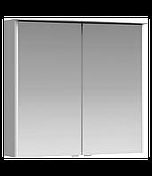 Aqwella Neringa 80 см, цвет белый зеркальный шкаф