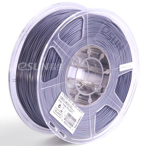 PLA + пластик eSUN Серый 1.75