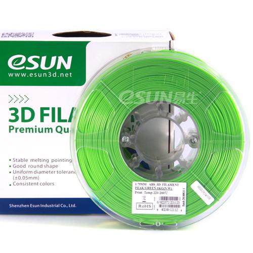 PLA PLUS  пластик eSUN  Зелёный 1.75