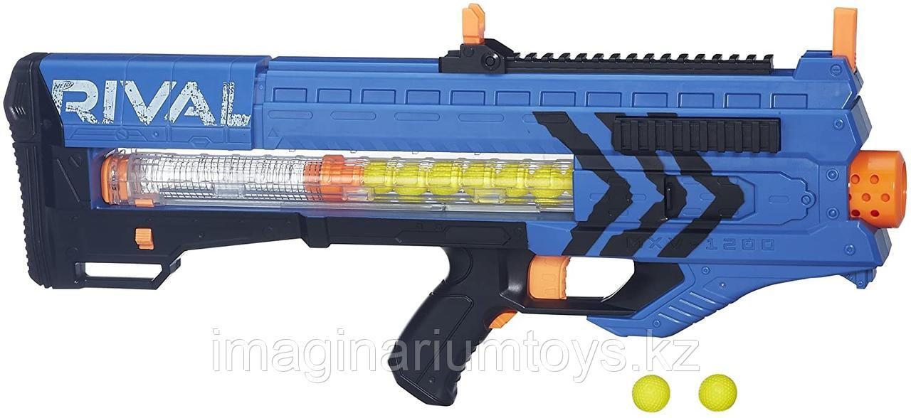 Бластер Нерф Зевс Nerf Rival Zeus MXV-1200 (синий)