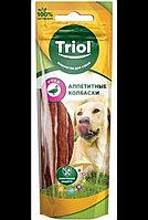 Аппететные колбаски Triol с уткой