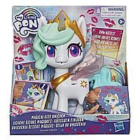 Hasbro My Little Pony Интерактивная пони Принцесса Силестия, Волшебный поцелуй (звук, движение)