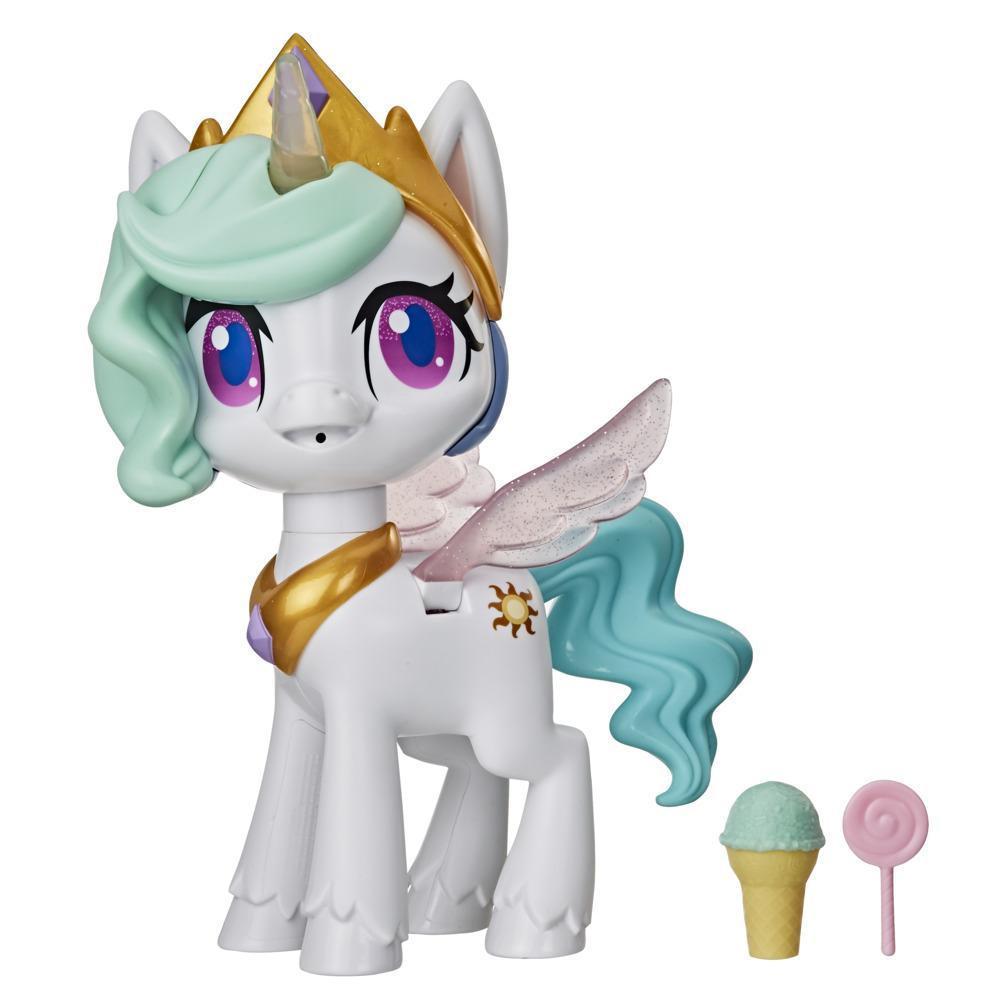 Hasbro My Little Pony Интерактивная пони Принцесса Силестия, Волшебный поцелуй (звук, движение) - фото 2