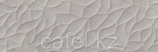 Кафель | Плитка настенная 25х75 Хайку | Haiku серый рельеф